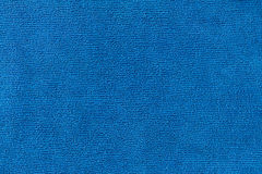 Texture in blue Microfiber Textile Royalty Free Stock Photos
