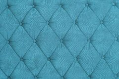Texture of blue padding Stock Photography