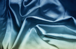 Texture of a blue silk royalty free stock images