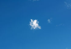 Texture of blue sky with cloud Stock Photography