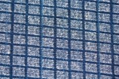 Texture of blue square pattern fabric Stock Photography
