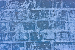 Texture of blue stoned bricks Stock Photo