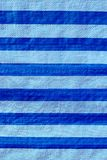 Texture of Blue Stripe Canvas Background. Texture of Blue Stripe Canvas for Background or Wallpaper Stock Photography