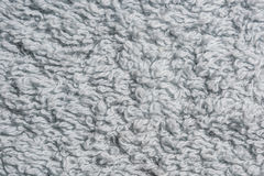 Texture of blue terry cloth Royalty Free Stock Image