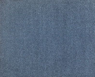 Texture : blue textile Royalty Free Stock Photography