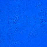 Texture of the blue wall Stock Images