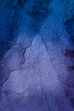 Texture of a blue wall Royalty Free Stock Photography