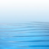 Texture of blue water in the pool Royalty Free Stock Images
