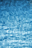 Texture of blue water Royalty Free Stock Photo