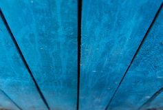 blue wooden boards stock photo