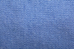 Texture blue wool sweater Royalty Free Stock Images