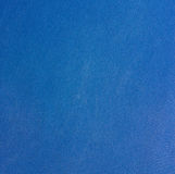 Texture of a blue worn cloth. The fabric is blue. Wiped fabric structure Royalty Free Stock Image