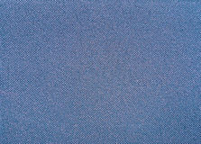 Texture of a blue woven synthetic waterproof fabric Stock Photography