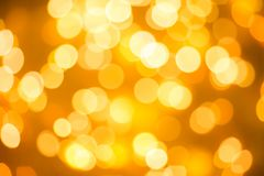 Texture of blurred background of Christmas lights stock image