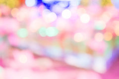 Texture bokeh blur colorful in backstyle Stock Photography