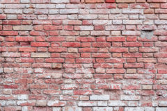 Texture. Brick. It can be used as a background. Brick texture with scratches and cracks stock photo