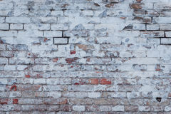 Texture. Brick. It can be used as a background. Brick texture with scratches and cracks royalty free stock images