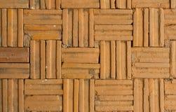 Texture of brick floor Royalty Free Stock Photos