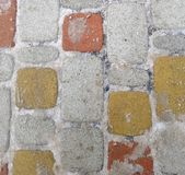 Texture - brick, tile, mosaic royalty free stock photo