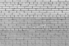 Texture brick two color gray wall Royalty Free Stock Photo