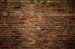 Texture of brick wall Royalty Free Stock Photos