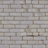 Texture of a brick wall. Structure of a white brick Stock Images