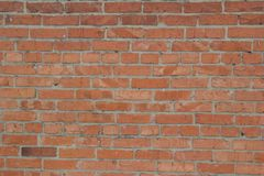 Texture of a brick wall. Structure of a brick wall Stock Images