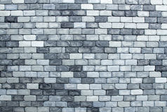 Texture of brick wall in black and white tone Royalty Free Stock Photo