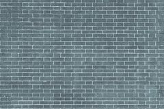 Texture brick wall of blue gray color Stock Photos