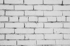 Texture brick wall of bright gray color Stock Photo