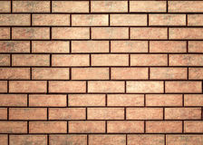 Texture of a brick wall. Stock Image