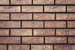 Texture of a brick wall. Stock Images