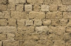 Texture of a brick wall construction Royalty Free Stock Photography