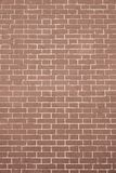 Texture brick wall light brown color Royalty Free Stock Photos