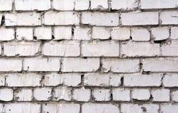 Texture of a brick wall. Rectangular background of brickwork. Stock Image