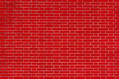 Texture brick wall of red color Stock Images