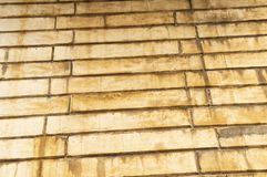 Brick wall texture with smudges royalty free stock photography