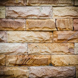 Texture of brick wall with vignette Stock Photography