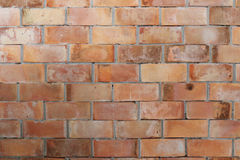 Texture brick wall is weathered and have corrosive. Stock Images