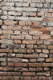Texture brick wall is weathered and have corrosive. Royalty Free Stock Photos