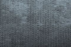 Texture of an bricklaying in dark silvery tones Royalty Free Stock Image