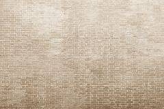 Texture of an bricklaying in light beige tones Royalty Free Stock Photos