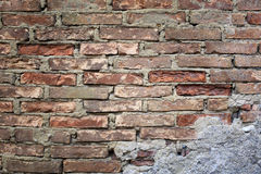 Texture: bricklaying Royalty Free Stock Photo