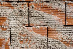 Texture of bricks Royalty Free Stock Images