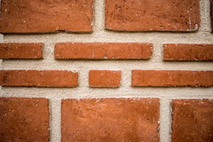Texture of bricks. Texture of braun  bricks details Stock Photos