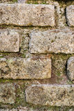 Texture Bricks Tufo Stock Image