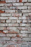 Texture of the brickwork. Construction Royalty Free Stock Images