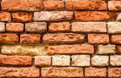 The texture of the brickwork Royalty Free Stock Photography