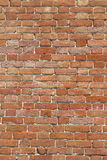 Texture brickwork. Texture of the old wall of red brick royalty free stock images