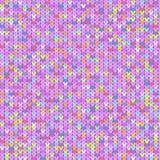 Texture of bright hearts Stock Photo
